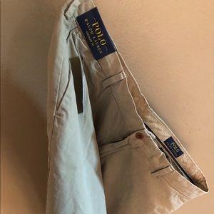 Brown Ralph Lauren cargo shorts